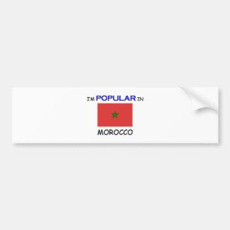 I m Popular In MOROCCO Bumper Stickers