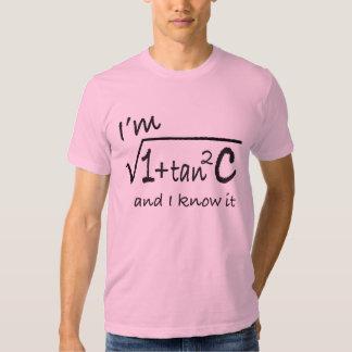 I'm sec C and I know it! Tshirt