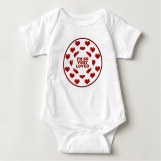 I 'm So Very Loved - Baby Clothing Infant Creeper