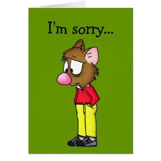 I m Sorry Card