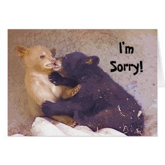 I m Sorry Greeting Cards