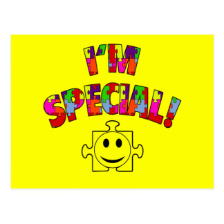 I m Special Autistic Awareness Post Cards