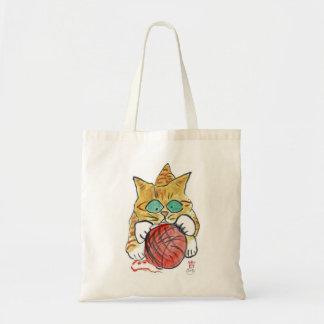 I m Stuck on the Yarn Meows Kitten Bags
