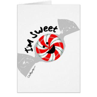 I m Sweet Greeting Cards