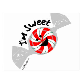 I m Sweet Post Card