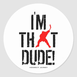 I M THAT DUDE STICKERS