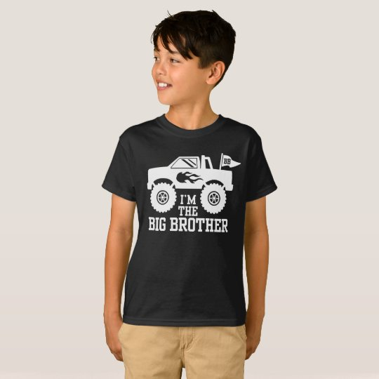 I'm The Big Brother Monster Truck T-Shirt