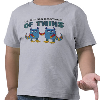 I m the Big Brother of Twins Tees