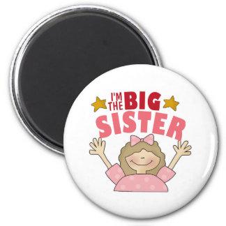 I m The Big Sister 3 Magnet