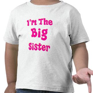I m The Big Sister Tee Shirts