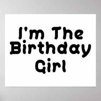 I m The Birthday Girl Poster