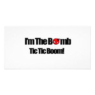 I m The Bomb Photo Card