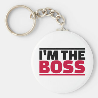 I'm the boss key ring