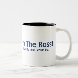 I m the Boss My Wife Said So Coffee Mug