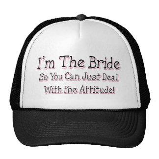 I m The Bride Trucker Hat
