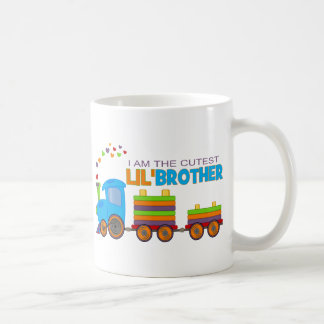 I m the cutest Lil Brother Coffee Mugs