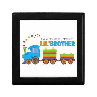 I m the cutest Lil Brother Keepsake Box