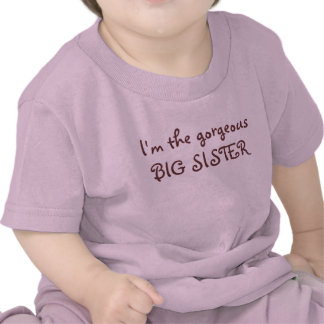 I m the gorgeous BIG SISTER Shirt