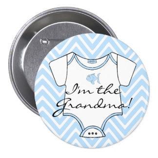 I m The Grandma Pinback Buttons
