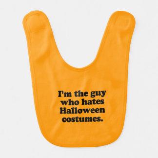 I M THE GUY WHO HATES HALLOWEEN COSTUMES BIB