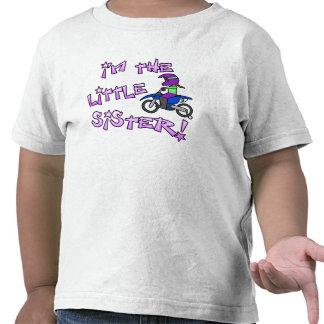 I m the Little Sister Motocross T Shirt
