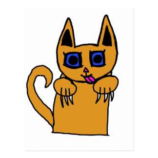 I m Too Catty for you Post Cards