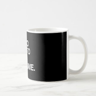 I M TOO LAZY TO GET A COSTUME png Coffee Mug