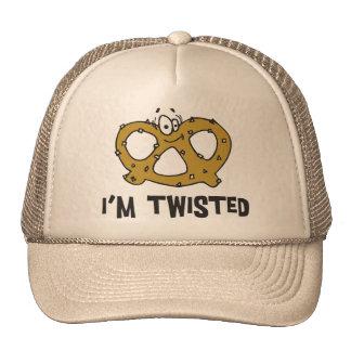 I m Twisted Pretzel Trucker Hats