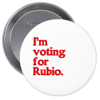 I M VOTING FOR RUBIO BUTTON