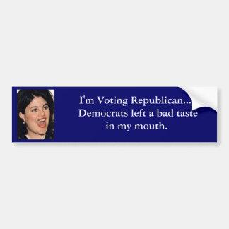 I m Voting Republican Bumper Stickers