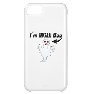 I'm With Boo iPhone 5C Cover