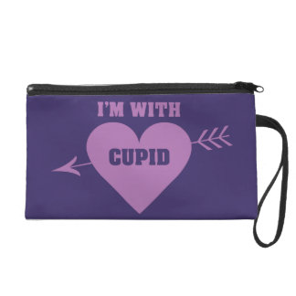 I'M WITH CUPID accessory bags