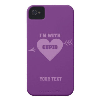 I'M WITH CUPID custom cases Case-Mate iPhone 4 Cases