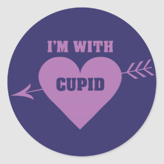 I'M WITH CUPID stickers