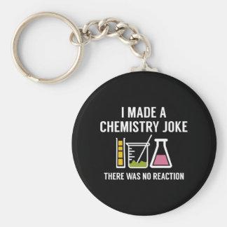 I Made A Chemistry Joke Key Ring