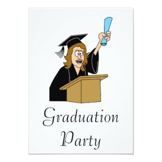 I Made It! Graduate 13 Cm X 18 Cm Invitation Card
