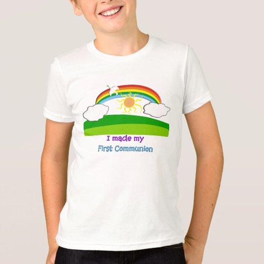 I Made My First Communion Kids T-Shirt