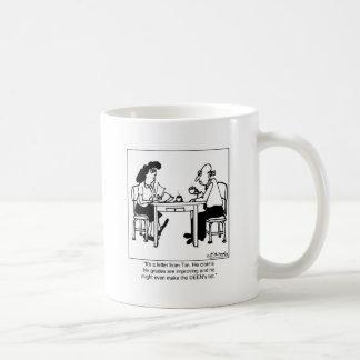 I Made The Deen's List Basic White Mug