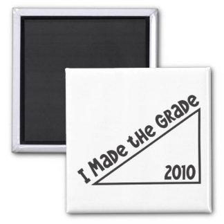 I Made the Grade - 2010 Class Graduate Magnets