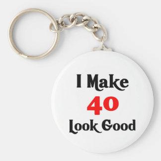 I make 40 look good key ring