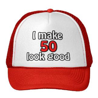 I make 50 garlic good trucker hat