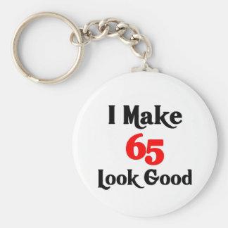 I make 65 look good basic round button key ring