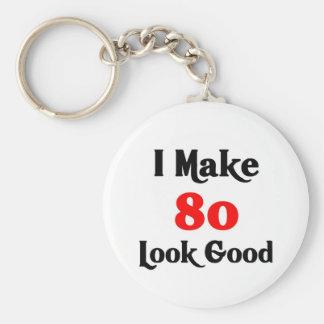 I make 80 look good basic round button key ring