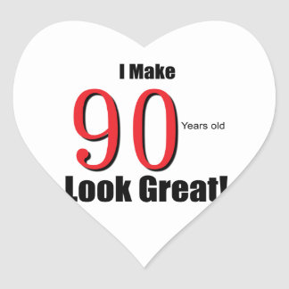 I make 90 Years old Look Great!! Sticker