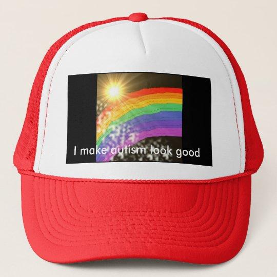 I make autism look good trucker hat