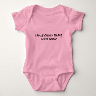 I Make Chunky Thighs Baby Bodysuit