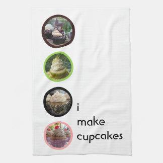 I Make Cupcakes Tea Towel