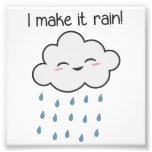 I Make It Rain Cute Storm Cloud Photograph