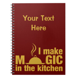 I Make Magic custom notebook