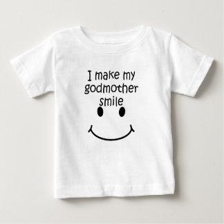 I Make My Godmother Smile Baby T-Shirt